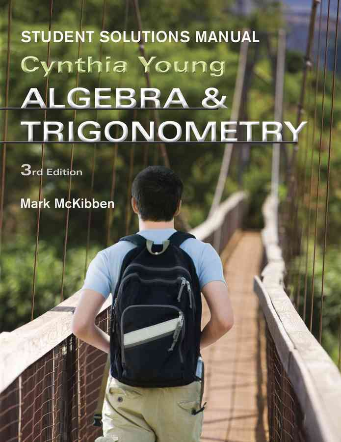 Algebra and Trigonometry By Young, Cynthia Y.